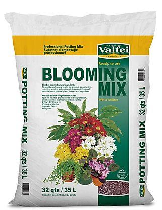 Valfei - Blooming Mix Potting Soil 16 qt.