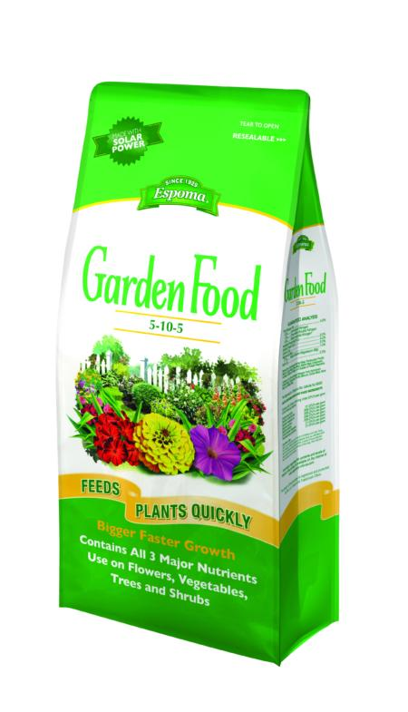 Espoma - Garden Food 5-10-5 Fertilizer 6.75 Lb.