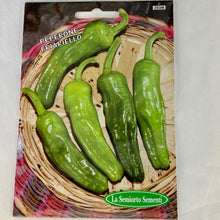 Load image into Gallery viewer, 283 - SWEET FRYING PEPPERS GREEN