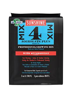 SunSungro - Sunshine Mix #4 Aggregate plus with Mycorrhizae 3 cu.ft.gro - Sunshine Mix #4 Aggregate plus with Mycorrhizae