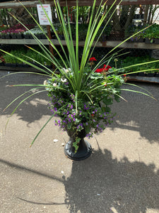 Tropical Combo Planters - Combo G w/ Large Green Spike