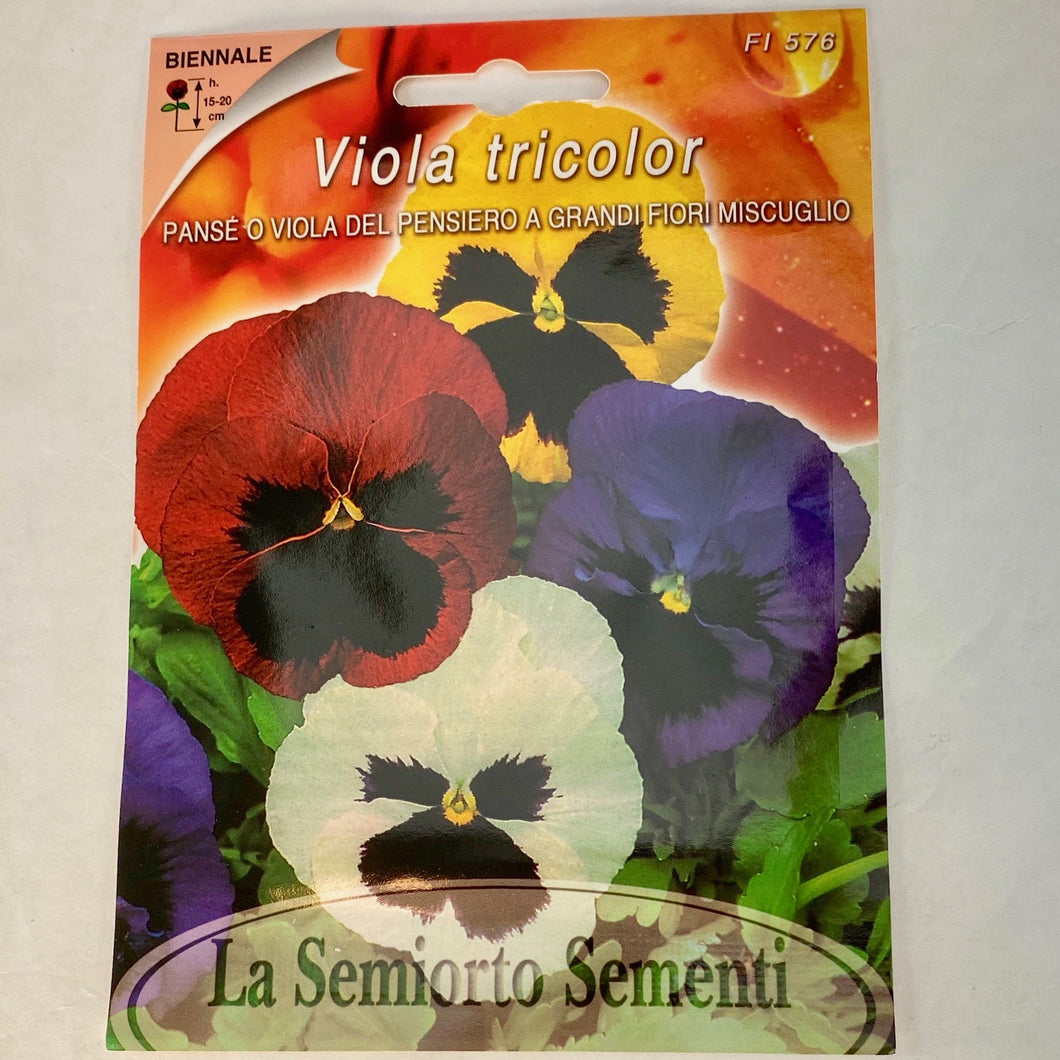 FL576 - PANSIES SEEDS