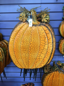 Crackle Pumpkin - Medium