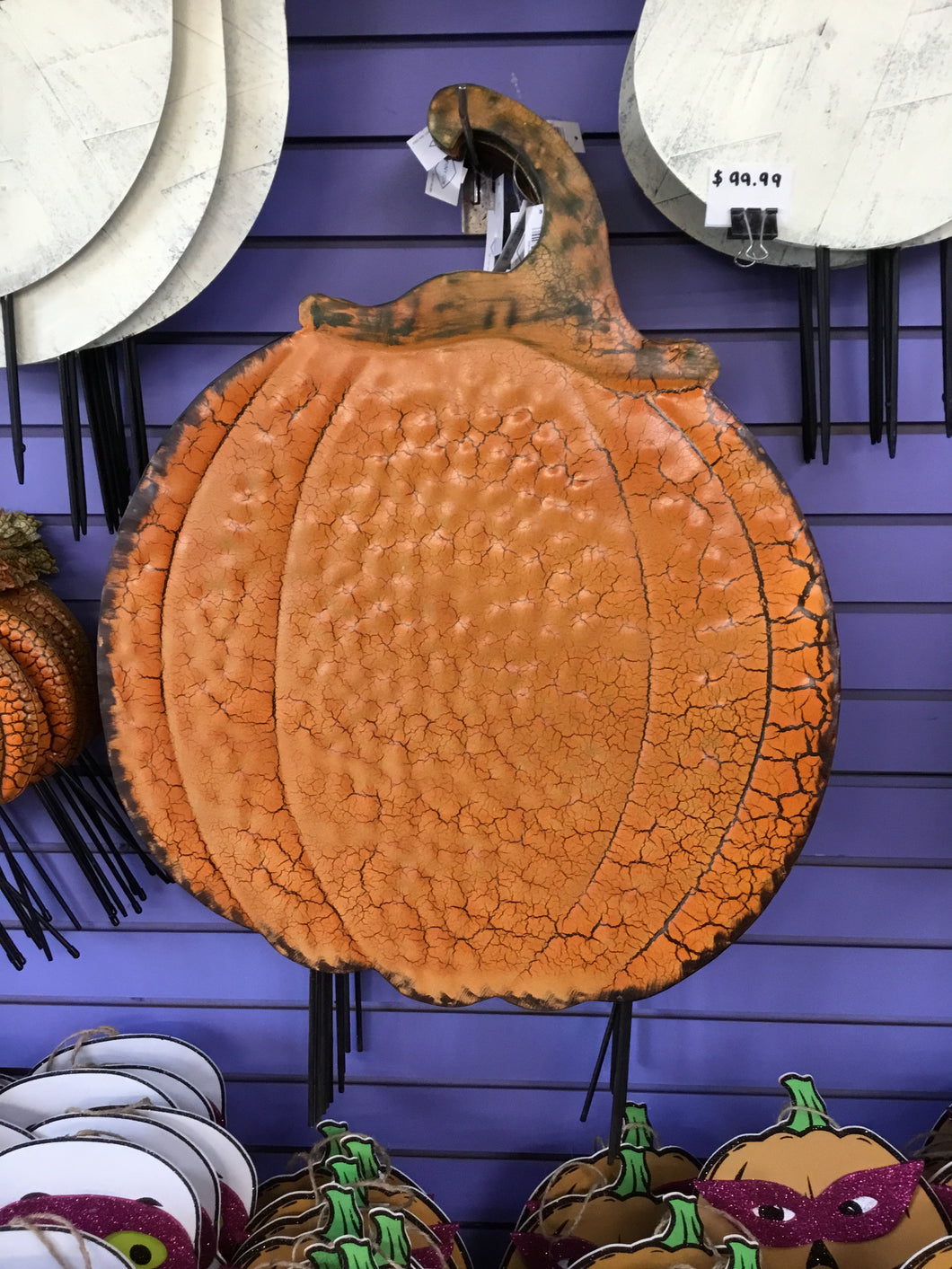 Antique Crackle Pumpkin