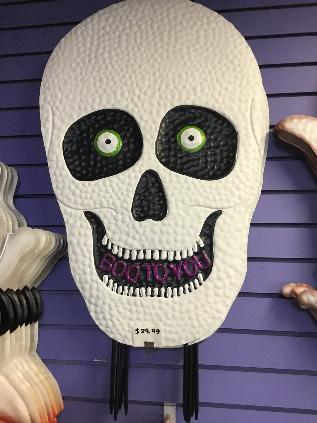 XL Scary Skeleton Head