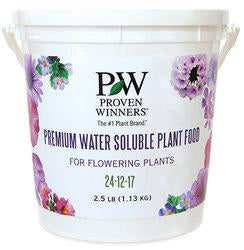 Proven Winners - Premium Water Soluble Plant food 24-12-17 2.5 Lb.