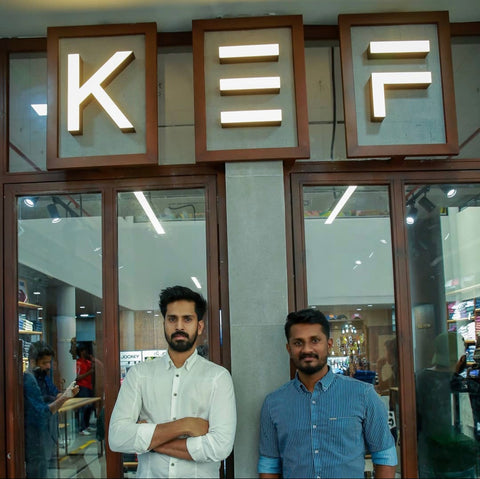 KEF clothing ceo Sai and co founder samad