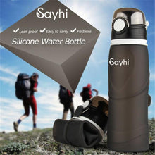 Load image into Gallery viewer, 750Ml Hot/Cold Foldable Sports Water Bottle - Purely Trü