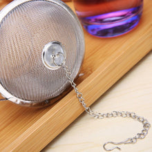 Load image into Gallery viewer, Eco-Friendly and Reusable Stainless Steel Mesh Tea Filters - Purely Trü
