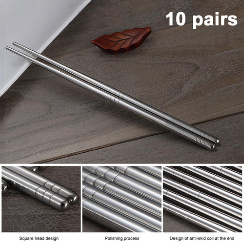 Reusable Stainless Steel Chopsticks - Purely Trü