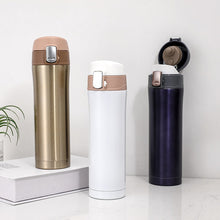 Load image into Gallery viewer, 500ML Stainless Steel Water Bottle/Coffee Mug - Purely Trü