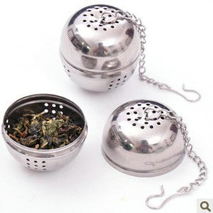 Stainless Steel Locking Reusable Eco-Friendly Mesh Infuser Tea Ball - Purely Trü