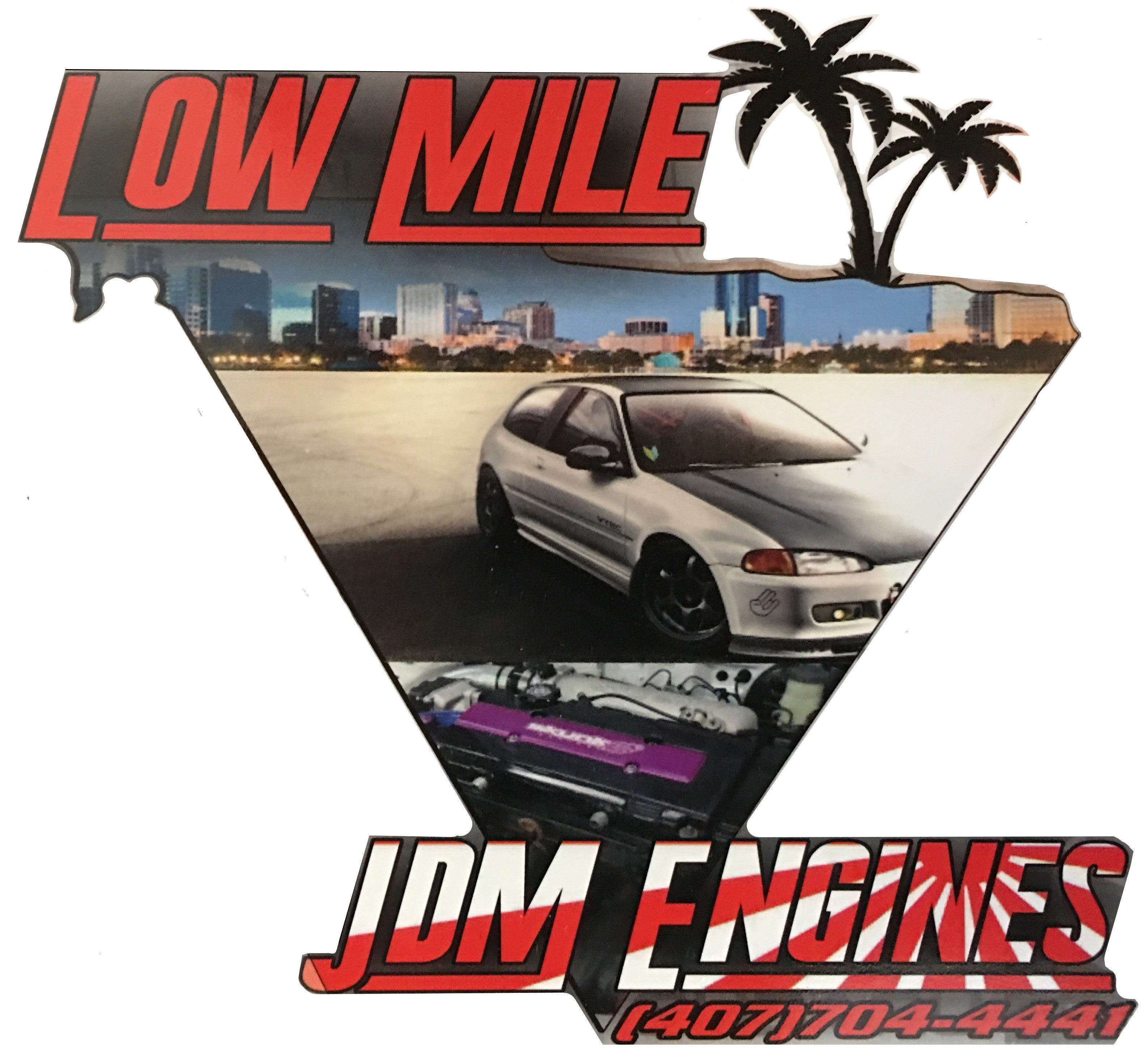Low Mile JDM Engine