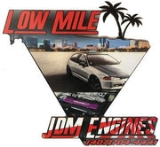 Low Mile JDM Engines