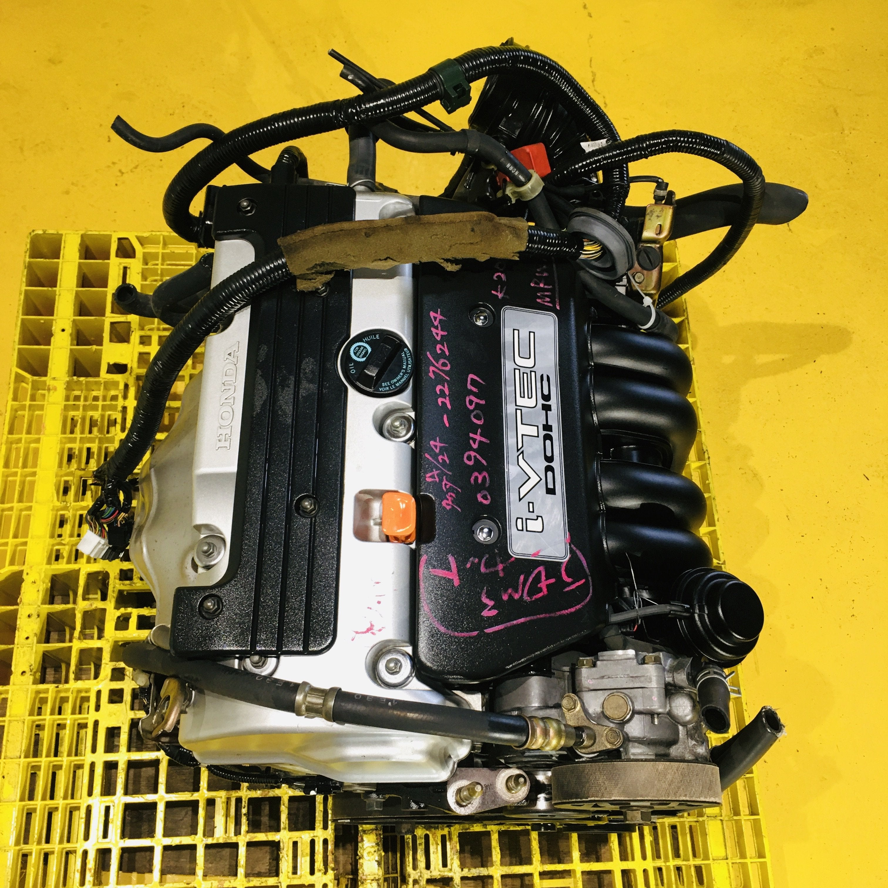 HONDA CIVIC SI (2002-2005) 2.0L DOHC VTEC JDM ENGINE SWAP #102 - K20A