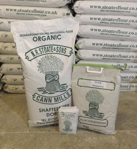 Organic Stoneground Strong Wholemeal Flour