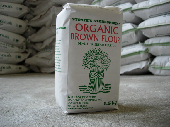 Organic Stoneground 81% Brown Flour 1.5kg
