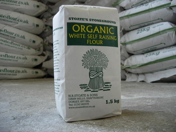 Organic Stoneground Self-Raising White Flour 1.5kg