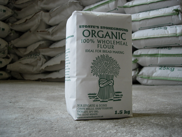 Organic Stoneground Strong Wholemeal Flour 1.5kg