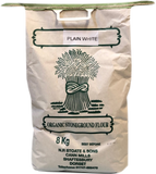 Organic Stoneground Plain White Flour 8kg