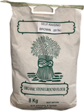 Organic Stoneground 81% Brown Self- Raising Flour 8kgr