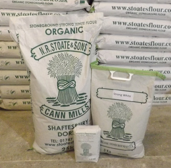 Organic Stoneground Strong White Flour