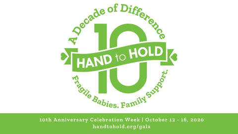 Hand to Hold 10th Anniversary Gala October 12-16, 2020 Sponsored by Barn Chic Boutique