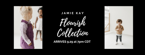 Jamie Kay Flourish Collection launch is at 7pm Central on Tuesday, 9/29