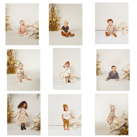 Rylee + Cru Autumn 2020 Enchanted Forest baby lifestyle shots