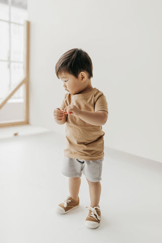 Jamie Kay Flourish toddler in Cam tee