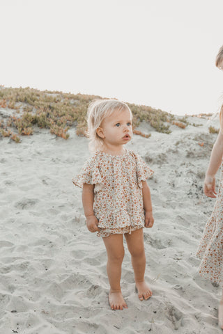 Rylee + Cru Hometown Collection Spring Summer 2020 Flower Field Butterfly Top and Bloomer