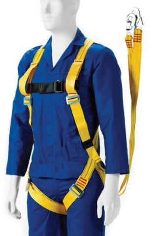 FULL-BODY HARNESS D/LANYARD