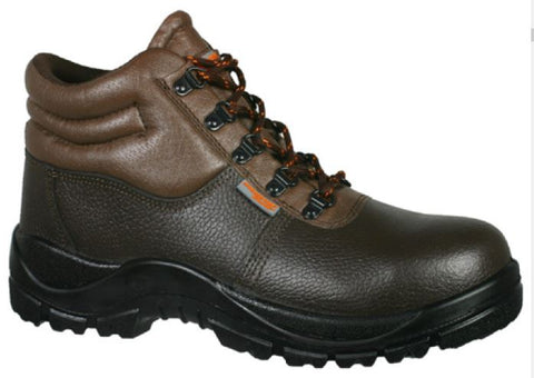 ASKARI MID SAFETY BOOTS - Brown