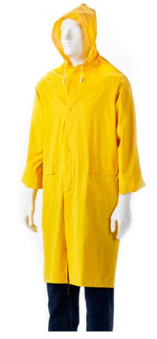 RUBBERISED RAINCOAT YELLOW