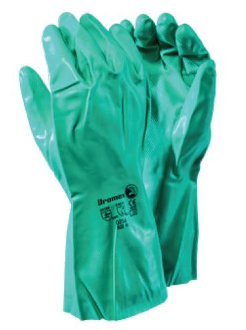 GREEN NITRILE GLOVES - 0056