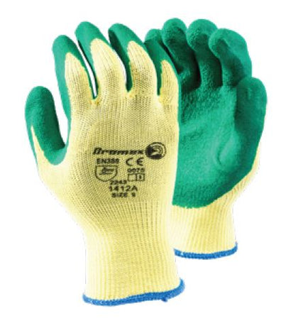 TEXTURED PALM GRIPPER GLOVES - 1412A