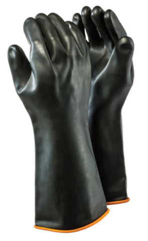 INDUSTRIAL RUBBER SMOOTH GLOVES - H1-40