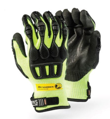 TAEKI5 HIGH PERFORMANCE IMPACT PALM DIPPED GLOVES - 52LSTPV