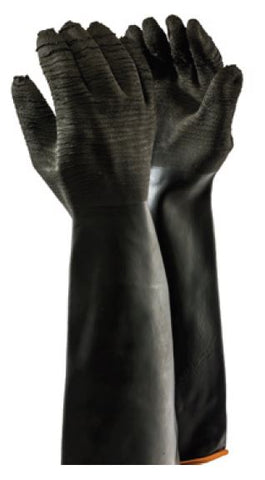 INDUSTRIAL RUBBER ROUGH GLOVES - H2-55
