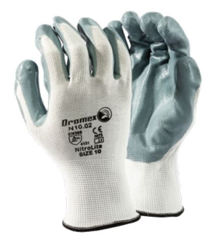 NITROLITE PALM GREY GLOVES