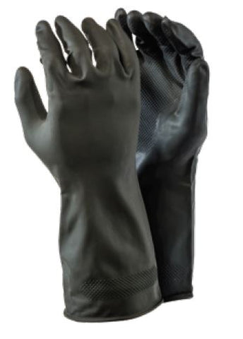 BUILDERS RUBBER GLOVES - D1
