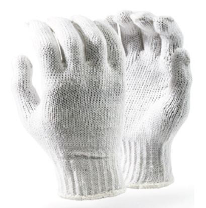 COTTON SEAMLESS GLOVES - GCOT/W-L BLEACHED 7GG