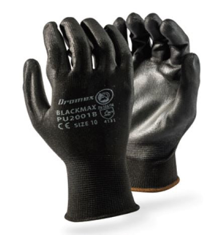 PU COATED GLOVES - BLACKMAX