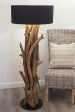 Load image into Gallery viewer, Teak Root Floor Lamp - Ace