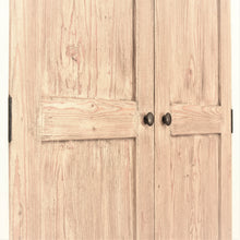 Load image into Gallery viewer, Reclaimed Pine Bude Range Double Wardrobe with 1 Drawer