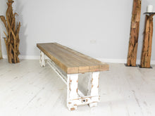 Load image into Gallery viewer, Reclaimed Pine Bench - Farmhouse 205cm
