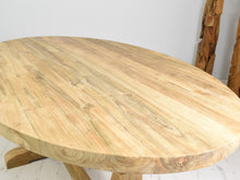 Load image into Gallery viewer, 160cm oval table , close view