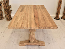 Load image into Gallery viewer, Reclaimed Teak Dining Table Rectangular - 150cm