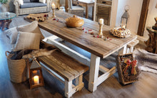 Load image into Gallery viewer, Reclaimed Pine Farmhouse Style Dining Table - 300cm