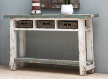 Load image into Gallery viewer, Vintage Console Table